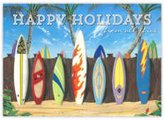 Happy Holidays Surfboards