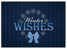 Winter Snowflake Wishes