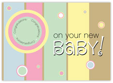 New Baby Value Card