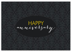 Black & Charcoal Anniversary