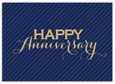 Navy Stripe Anniversary