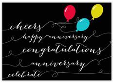 Black Balloons Anniversary
