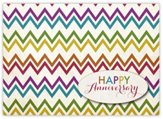 Colorful ZigZag Anniversary