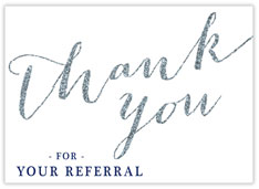 Glittery Referral
