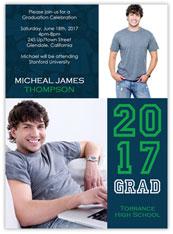 Green Varsity Graduation
