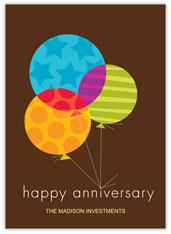 Lasting Ties Anniversary Card