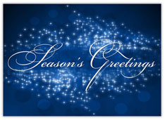 Blue Season's Greetings Sensation