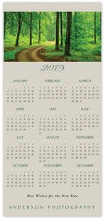 2015 Path Calendar Card