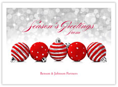 Sparkling Season Holiday Card
