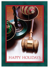 Holiday Legal Elements Holiday Card