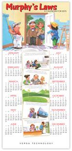 2015 Murphy's Law Calendar Card