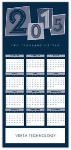 Blue Identity Calendar Card