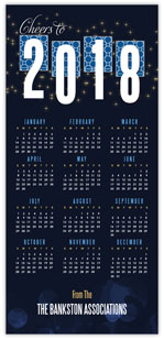 Navy Starlight Calendar