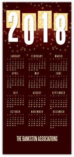 Caramel Starlight Calendar