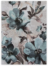 Watercolor Floral Sympathy