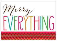 Merry Everything! Card