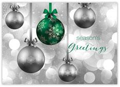 Hanging Green Ornaments