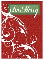 Be Merry Filigree
