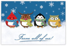 Nice and Snug Postcard