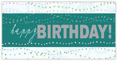 Presented In Lights Birthday Card