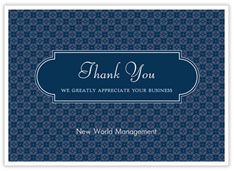 Business Thank You
