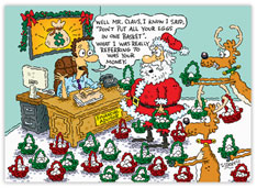 Santa Diversifies Accounting Card