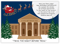 The Night Before Trial Legal Card
