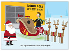 Ride in Style Auto Body Card
