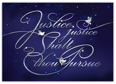 Legal Justice Christmas Card