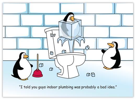humor christmas card: