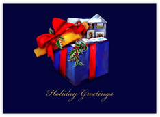 Gift of Home Realtor Christmas Card