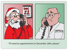 Advance Notice Chiropractor Card