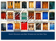 Architectural Gems Realtor Holiday Card