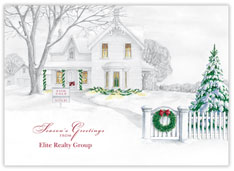Holiday Accents Realtor Card