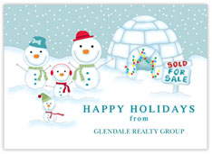 Igloo for Sale Realtor Card