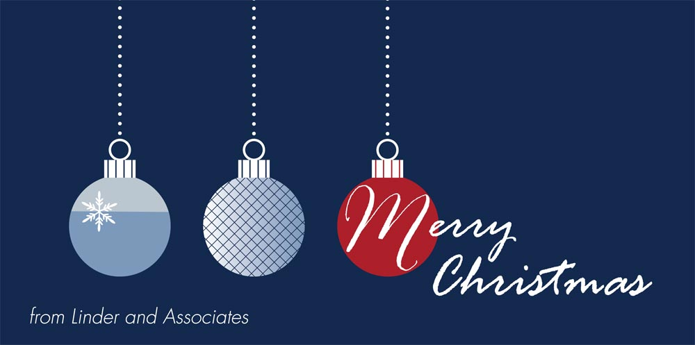 Merry String of Lights - Christmas Cards from CardsDirect