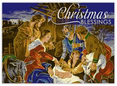 Vibrant Nativity