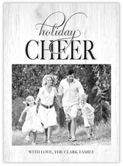 Cheery Holiday Photo Card