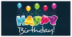 3D Birthday Greetings Card