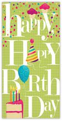 Birthday Treats Card