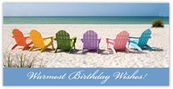 Birthday Island Card