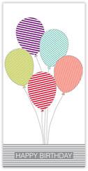 Breezy Balloons Birthday Card