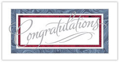 Framed Congratulations Card