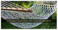 Relax Retirement Card