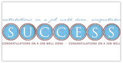 Well Done! Congratulations Card