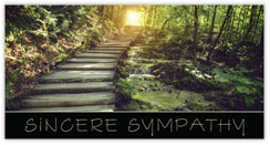Path of Sympathy Card
