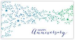 Anniversary Stardust Card
