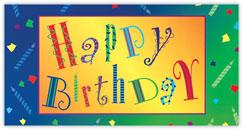 Spread the Fun Birthday Card