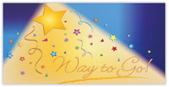 To the Stars Congratulations Card