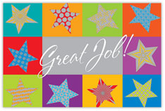 You're a Star! Achievement Postcard